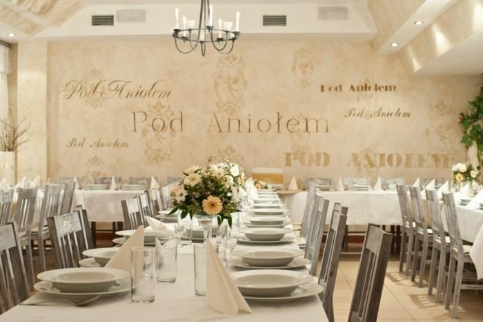 Sala Weselna Szczecin Restauracja Pod Aniołe Organizujemy Wesela